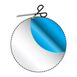 Cutout Circle Stock Image