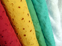 Cutout Fabric Stock Photography