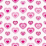 Cutout Heart Seamless Tile Royalty Free Stock Image
