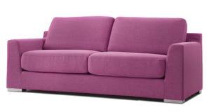 Cutout modern couch Stock Photos