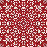 Cutout paper lace pattern Royalty Free Stock Photos