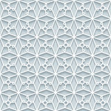 Cutout paper lace texture, seamless pattern Stock Photography