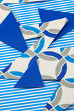 Cutout patterned card Stock Image