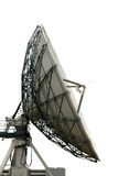 Cutout satelite dish. On white background with clippng path Royalty Free Stock Photo