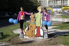 Cutout Scooby-Doo Stock Image