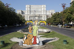 Cutout Scooby-Doo Royalty Free Stock Photography
