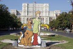 Cutout Scooby-Doo Royalty Free Stock Photo