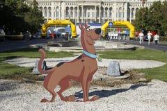Cutout Scooby-Doo Stock Photo