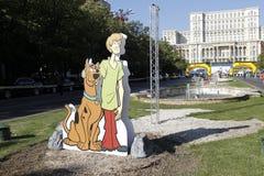 Cutout Scooby-Doo Royalty Free Stock Image