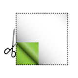 Cutout Square Royalty Free Stock Photo