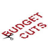 Cuts by Governments Royalty Free Stock Photography