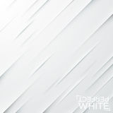 Cuts on white paper. Backdrop with diagonal slits on blank sheet. royalty free illustration