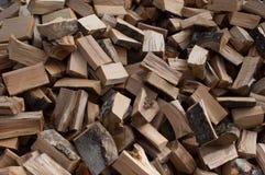 Cutted山毛榉的木材 免版税库存照片