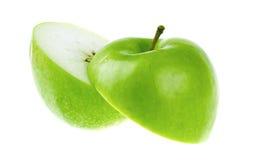 cutted äpple royaltyfri foto