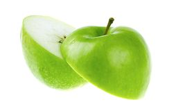 A cutted apple Royalty Free Stock Photo