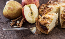 Cutted Apple Pie Royalty Free Stock Photo