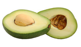 Cutted avocado fruit Royalty Free Stock Photography