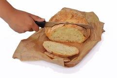 cutted bröd Fotografering för Bildbyråer