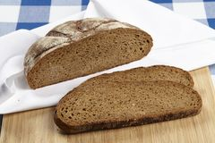 Cutted bröd Royaltyfria Foton