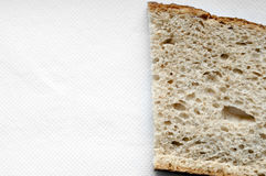 Cutted bread background Stock Images