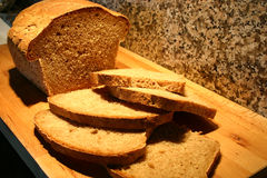 Cutted Brot lizenzfreie stockfotografie