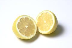 Cutted citroenen Stock Foto's