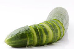 Cutted cucumber Royalty Free Stock Photography