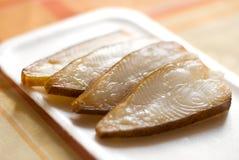 cutted fisk Arkivbild