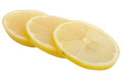 Cutted lemon Stock Photography