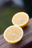 Cutted lemon Royalty Free Stock Photos