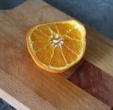 Cutted pomarańcze Obrazy Stock