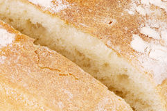 Cutted tasty bread Royalty Free Stock Photo