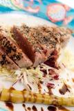 Cutted Tuna Steak Stock Photos