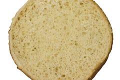 Cuttedbroodje op wit royalty-vrije stock afbeelding