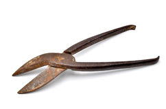 Cutter tongs Royalty Free Stock Photo