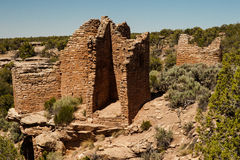Cutthroat Castle - Hovenweep. View of Cutthroat Castle Complex in Hovenweep National Monument royalty free stock photo
