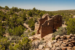 Cutthroat Castle - Hovenweep. View of Cutthroat Castle in Hovenweep National Monument stock photography