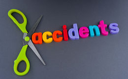 Cutting accidents Royalty Free Stock Photography