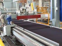 Cutting aluminum lines. Stock Photos