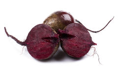 Cutting beet Royalty Free Stock Images