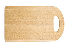 Cutting board. On a white background Stock Photography