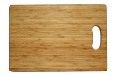 Cutting board. Cutting board isolated on white with clipping path Royalty Free Stock Photography