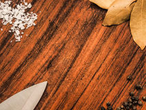 Cutting board background Stock Photography