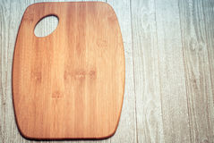 Cutting Board on Boards Royalty Free Stock Images