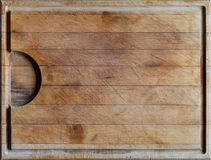 Cutting board with horizontal lines background Stock Photo
