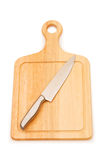 Cutting board isolated Royalty Free Stock Photography