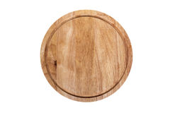 Cutting board. On an isolated background Stock Photography