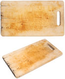 Cutting board. Isolated on a white background Stock Image