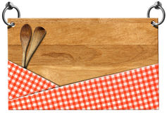 Cutting Board - Signboard with clipping path Royalty Free Stock Photography