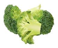 Cutting broccoli Stock Photo
